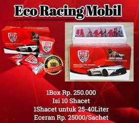 Eco racing mobil ( penghemat BBM 50% & uji emisi, co 2 hingga 100%)
