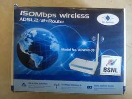 150 MBPS wireless router BSNL