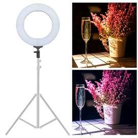 Lampu Halo Ring Light LED Kamera DSLR Smartphone 60W 480 LED 18 Inch