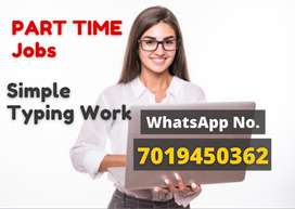 Simple typing home based job. No qualification required.