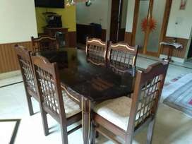 Dinning table set pure sheesham