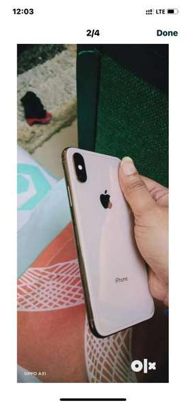 Xs rose gold colour 256 gb in excellent condition