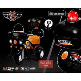 MOTOR ROCKER 673 SHP TOYS  SEPEDA ANAK RODA 3 DORONG MURAH