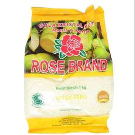 Gula Pasir Rosebrand 1 kg ( kuning )