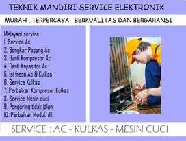 Rajanya service Kulkas & Mesin cuci loundry front loading   Ac rumah