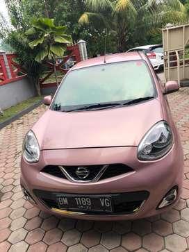 Dijual nissan march pink 2014