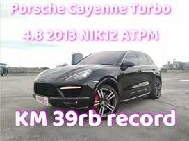 Porsche Cayenne Turbo # macan 4.8 2013 NIK 2012 ATPM Full Option Black