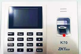 Zkteco Biometric ATTENDANCE MACHINE K70 & ACCESS CONTROL