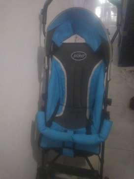 Pliko stroller warna biru