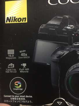 Nikon coolpix B500 with box and full accesories 10/9 condition.