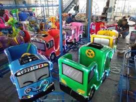 Wahana mainan odong kereta mini panggung RAA spek komplit