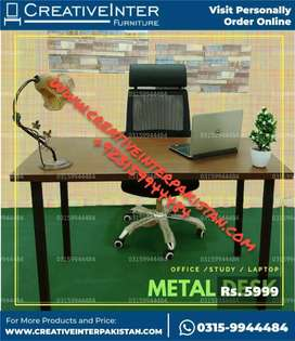 Office table Metal within budget chair Computer study workstation sofa