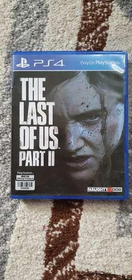 Jual Kaset PS 4 Last of Us Part II 100% Mulus