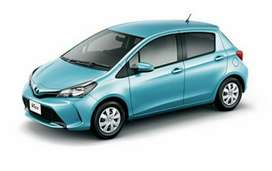 Now get a new Toyota vitz 2019 on just 20% down payment