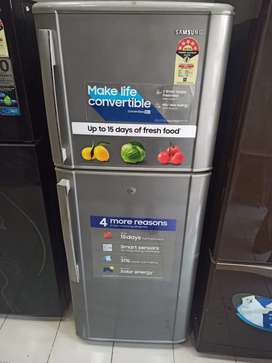 SAMSUNG DOUBLE DOOR FRIDGE WITH 5 YEAR WARRANTY DELIVERY FREE