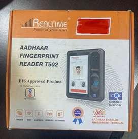ADHAR ENBALED finger Print Reader T502