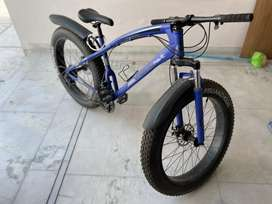 Fat tyre cycle. Brand new