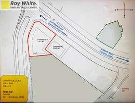 Dijual Tanah Komersial Di Arteri Boulevard Bintaro Jaya Sektor 9