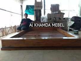 Monggo Depan Minimalis Bahan Kayu Jati @844