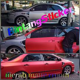 wrapping full warna sticker oracal