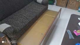 Bed and sofa cum bed in good condition