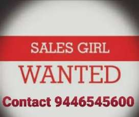 Wanted young dynamic sales girl