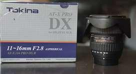 TOKINA 11-16mm F 2.8 AT-X PRO DX II for NIKON (Full Set)