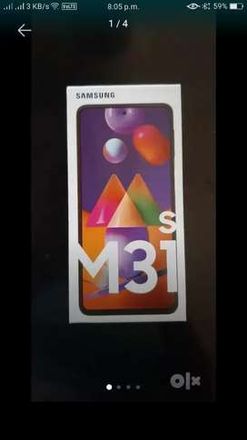 New mobile Samsung m31s