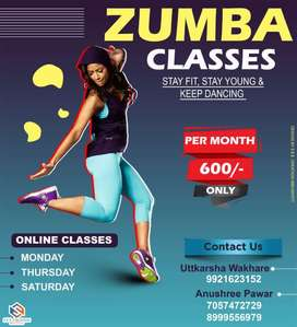 Virtual Dance Classes for Just 599/- Per Month