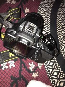 nikon d3500 with 18-55 mm lens