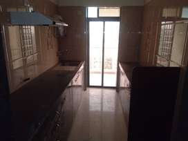 3 BHK flat available for rent.