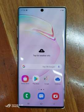buy Samsung note 10 plus with all accessories and best price full COD