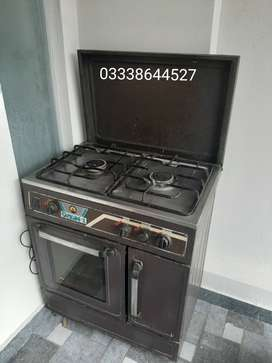 Electric & Gas oven and stove