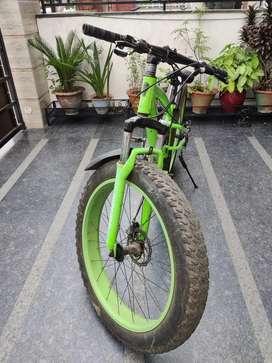 Thunder Fat Tyre Bike