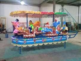 PROMO fiber animal kereta odong panggung mini coaster pancingan fiber
