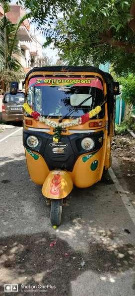 Bajaj  maxima auto daily rent ₹350  adv 3000  originals liscence must