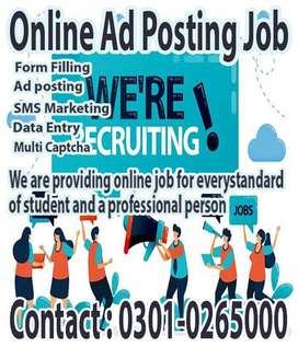 Dismal online data entry job at home for Students and Housewives