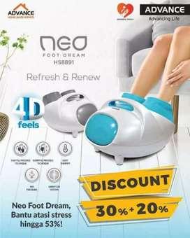 Alat therapy kaki modern pijat kaki refleksi advance