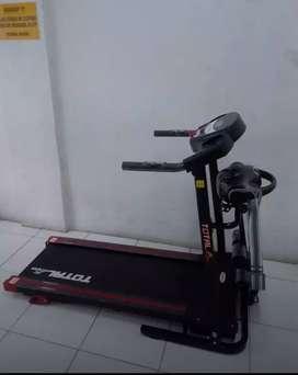 TL-629 white=Treadmill Electric 3fungsi bergaransi