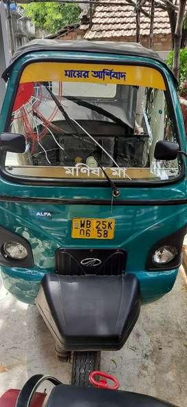 Mahindra e-ALFA Vehicle
