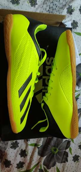 Brand new Adidas football shoes and box size uk9