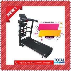 Treadmill Elektrik Fitur Lengkap Harga Promo Bisa COD