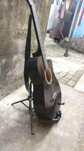 Linden wood Guitar