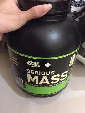 serious mass .high protein weight gain powder