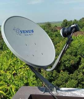Antena Parabola Kasreman tanpa bulanan