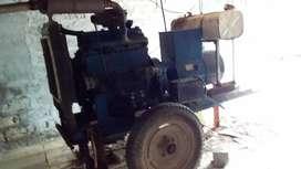 Generator with water tank