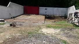 Di jual tanah + Bangunan cocok untuk gudang, gudang Tembakau dll