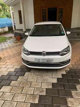 VOLKSWAGEN AMEO FULL OPTION (2019)PRICE 2.75 LKSPETROL CAR  FOR LEASE