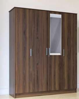 Four Door Wardrobe For Sale