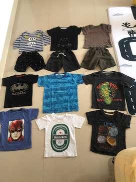 Paket Baju Anak Setelan Anak Preloved